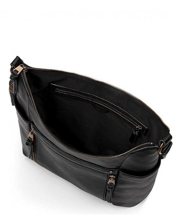 Collective Keira Zipper Pocket Tassel Bag