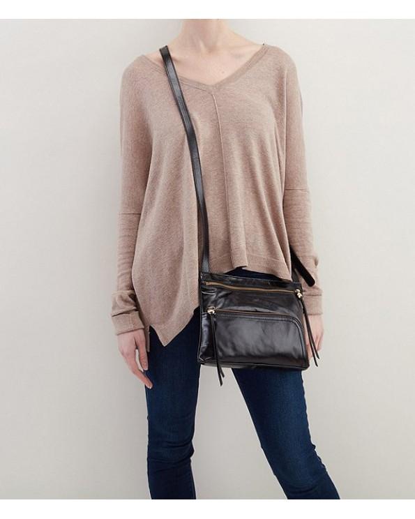 Cassie Leather Cross-Body Bag