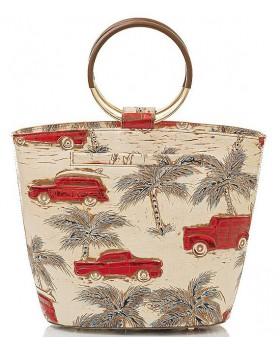 Copa Cabana Collection Mod Bowie Ring Handbag