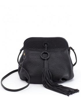 Bird Magnetic Clasp Tassel Crossbody Bag
