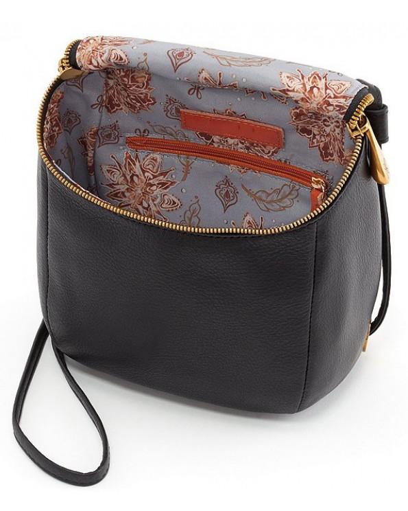 Flow Top Grain Leather Convertible Backpack Crossbody Bag