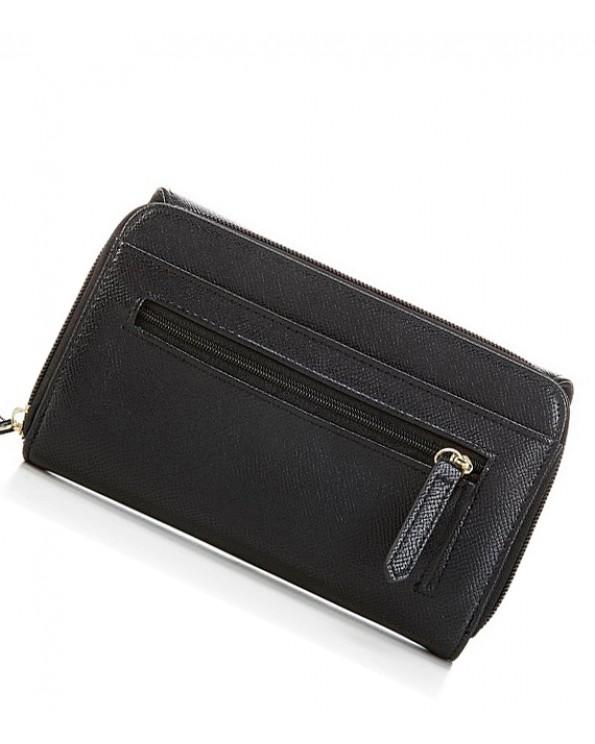 Mina Texture Large Oranizer Wallet