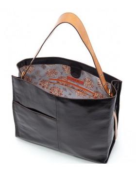 Medium Leather Tote Bag