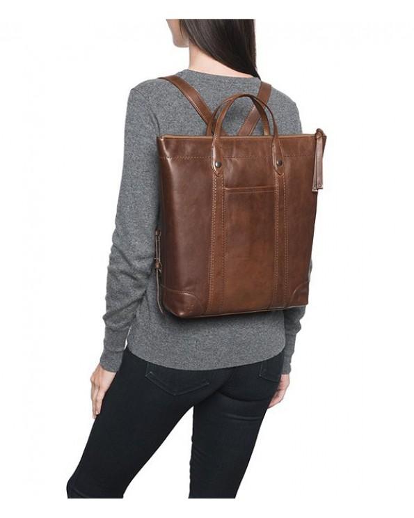 Melissa Zipper Leather Zipper Carrier Bag
