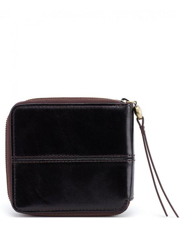 Zippy Compact Leather Zip Wallet