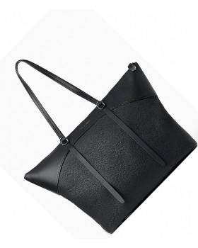 Signature Top Zipper Carrier Bag