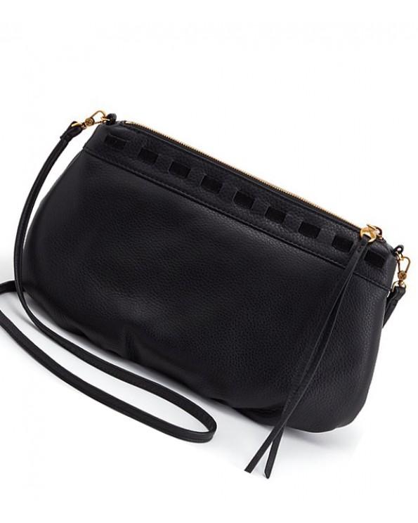 Birch Convertible Leather Cross-Body Bag