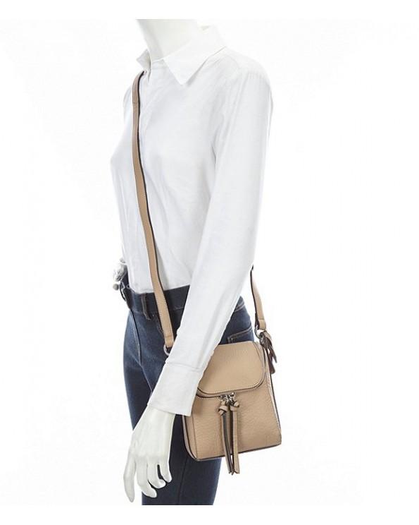 Myri Leather Cross-Body Bag