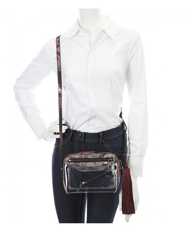 Lynza Transparent Multi-Decoration Cross-Body Bag