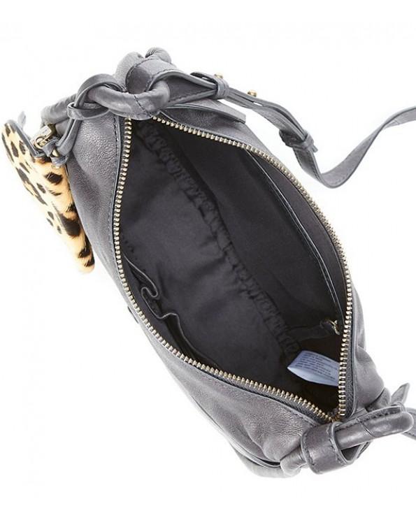 Dayn Leather Cross-Body Bag