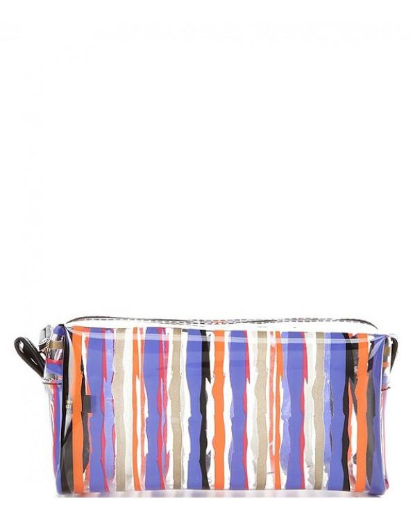 Transparent Printed Cube Bag